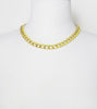 yellow-dipped-gold-chain-fashion-statement-necklace