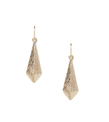 Angular Metal Earrings