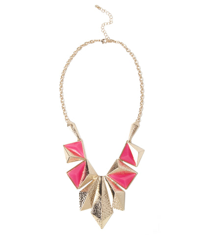 Angular Metal Necklace