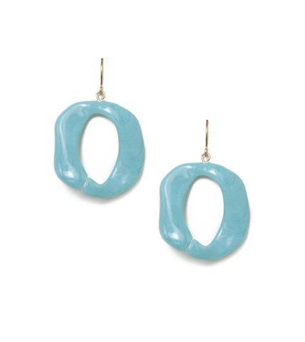 turquoise-link-fashion-costume-earrings