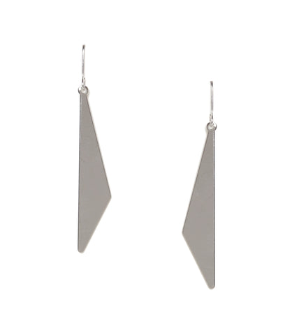 Cut Out Metal Earrings