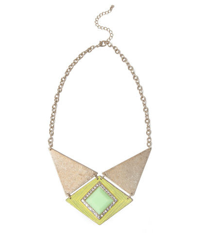 yellow-jewel-center-triangle-plate-fashion-statement-necklace