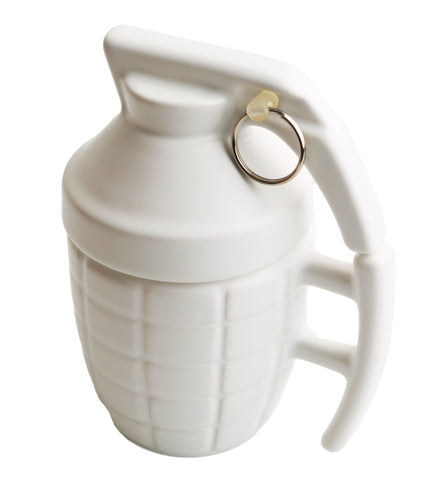 Grenade Mug White | Cool Coffee Mugs | Cool Gift Ideas | HOTTT.COM