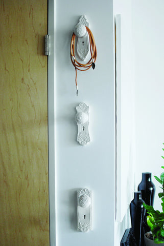 Mortise Door Knob Wall Hooks