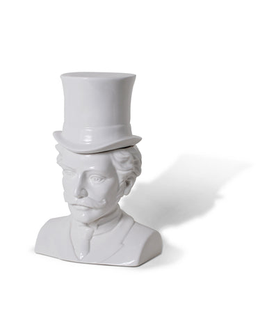 Gentleman Victorian Head Container