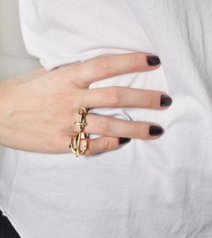 twisted-anchor-double-fashion-statement-jewelry-rings