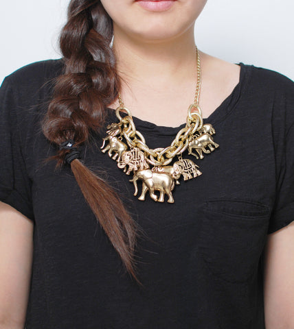 elephant-herd-fashion-statement-necklace