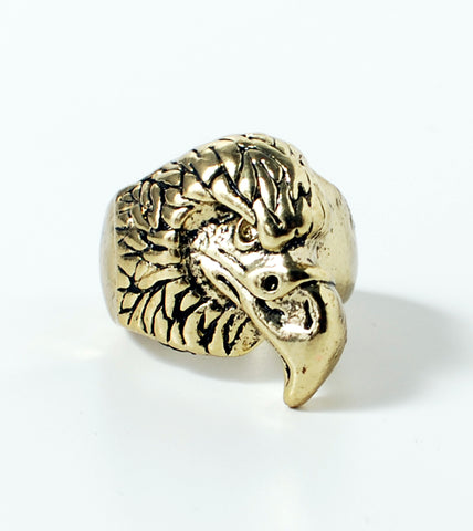Chunky Eagle Head Ring