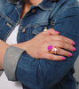 fuchsia-gem-fashion-statement-jewelry-rings