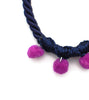 purple-pompom-fashion-statement-necklace