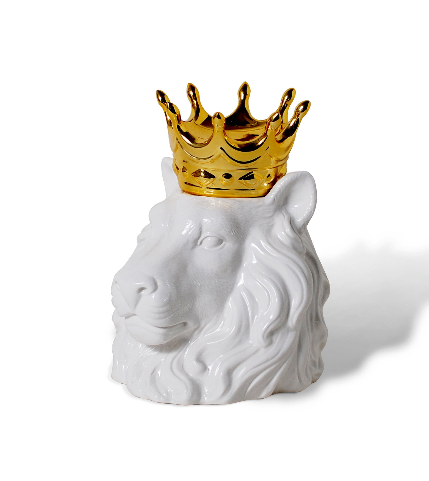 crowned lion head ceramic kitchen canisters hottt com