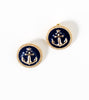 antique-anchor-button-fashion-costume-studs-earrings