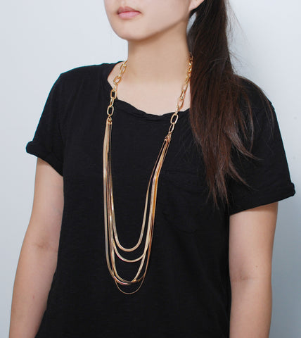 multi-layer-gold-fashion-statement-necklace