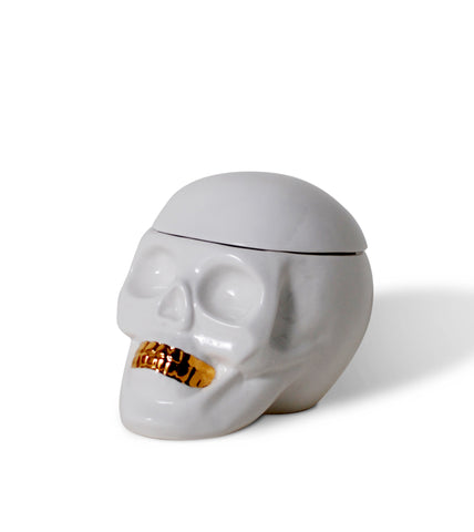 Human Oracle Skull Container