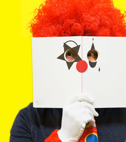 Peeping Clown Notebook
