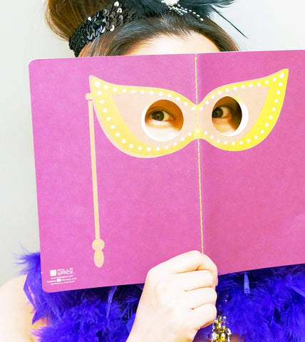 Peeping Masquerade Notebook