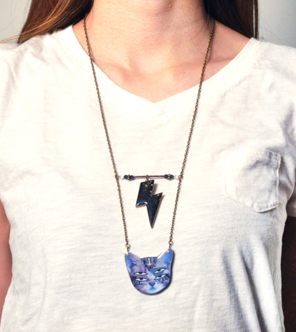 Thunder-Cat Necklace