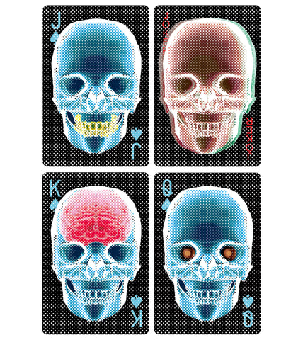 Deck of Cards X Ray