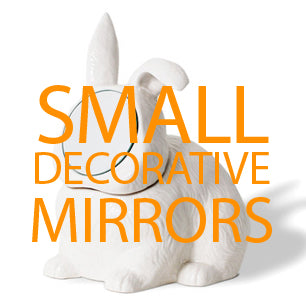 small decorative mirrors