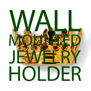 wall mounted jewelry holder