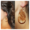 BRAZILIAN GOLDEN EARRINGS