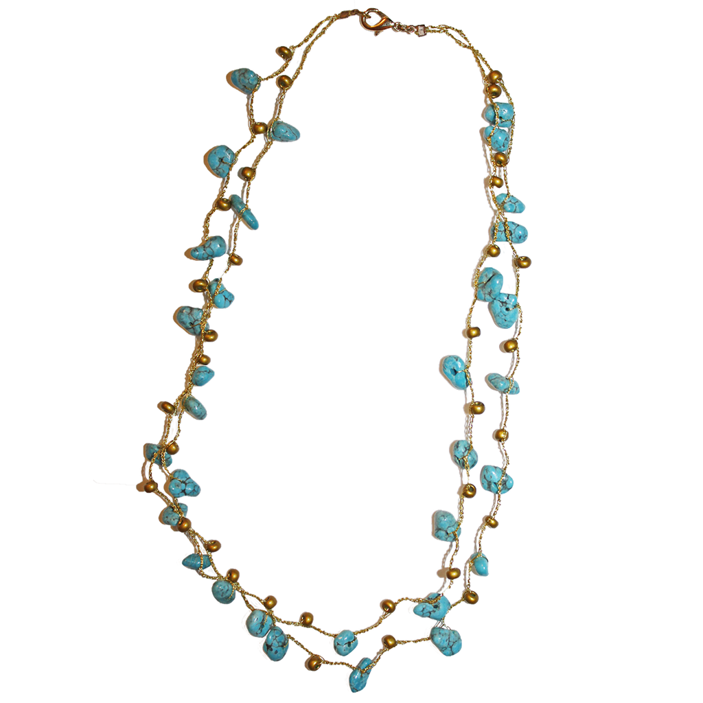 and van alhambra turquoise necklace raton arpels product cleef single boca