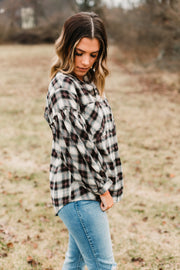 hudson flannel top