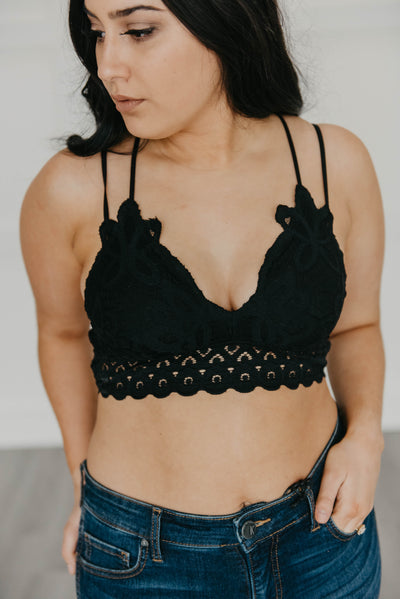 Jessica bralette in black