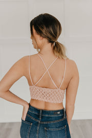 Jessica bralette in blush