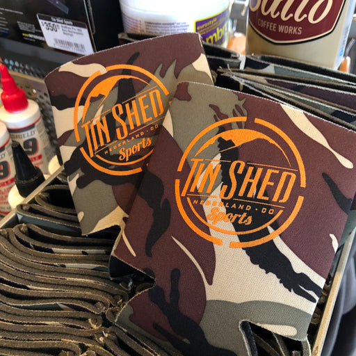 Tin Shed Sports Camo Can Koozie 4bcc87d98