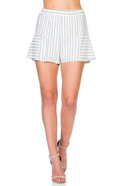 Panel Striped Shorts