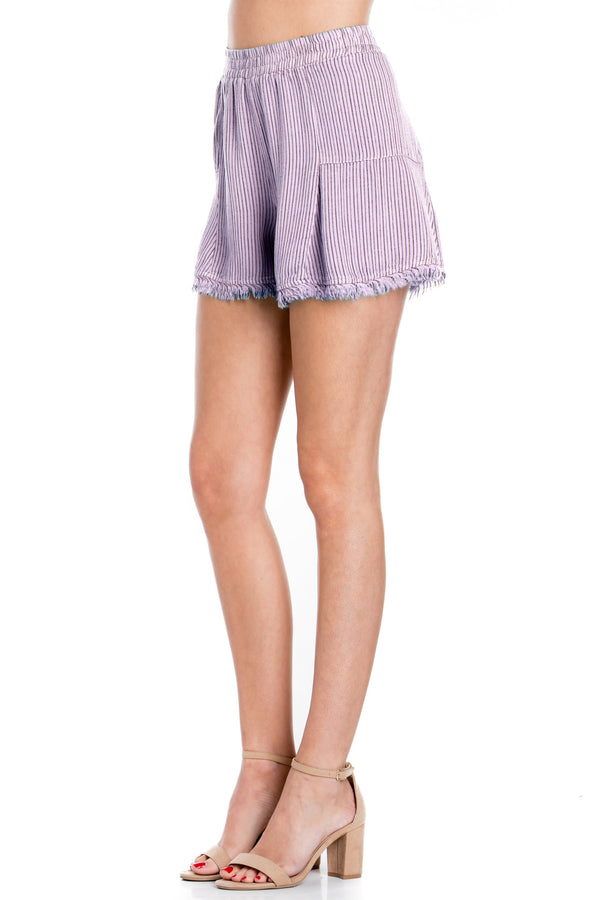 Frayed Beach Shorts