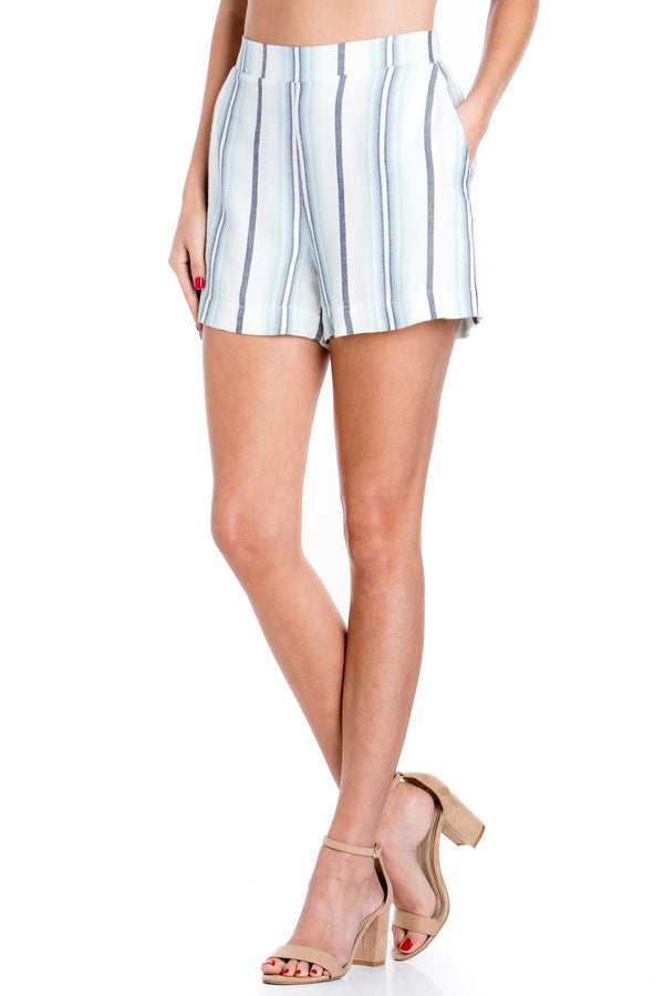 Malibu Stripe Shorts