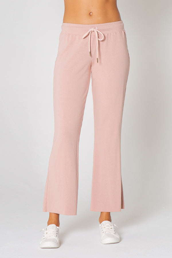 Drawstring Culotte Pants