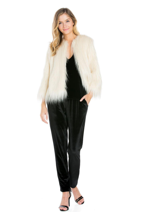 Vegan Fur Jacket