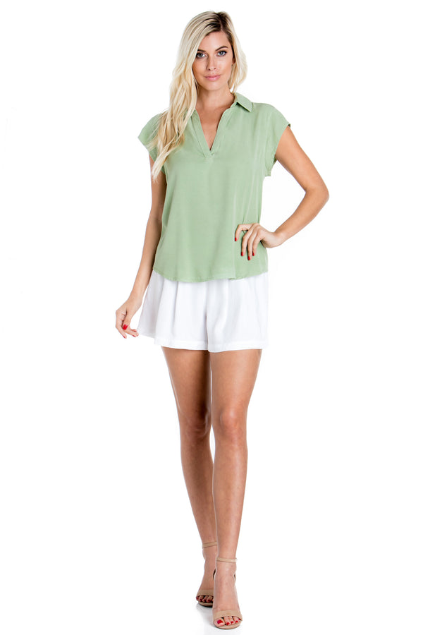 Short Sleeve Laguna Top