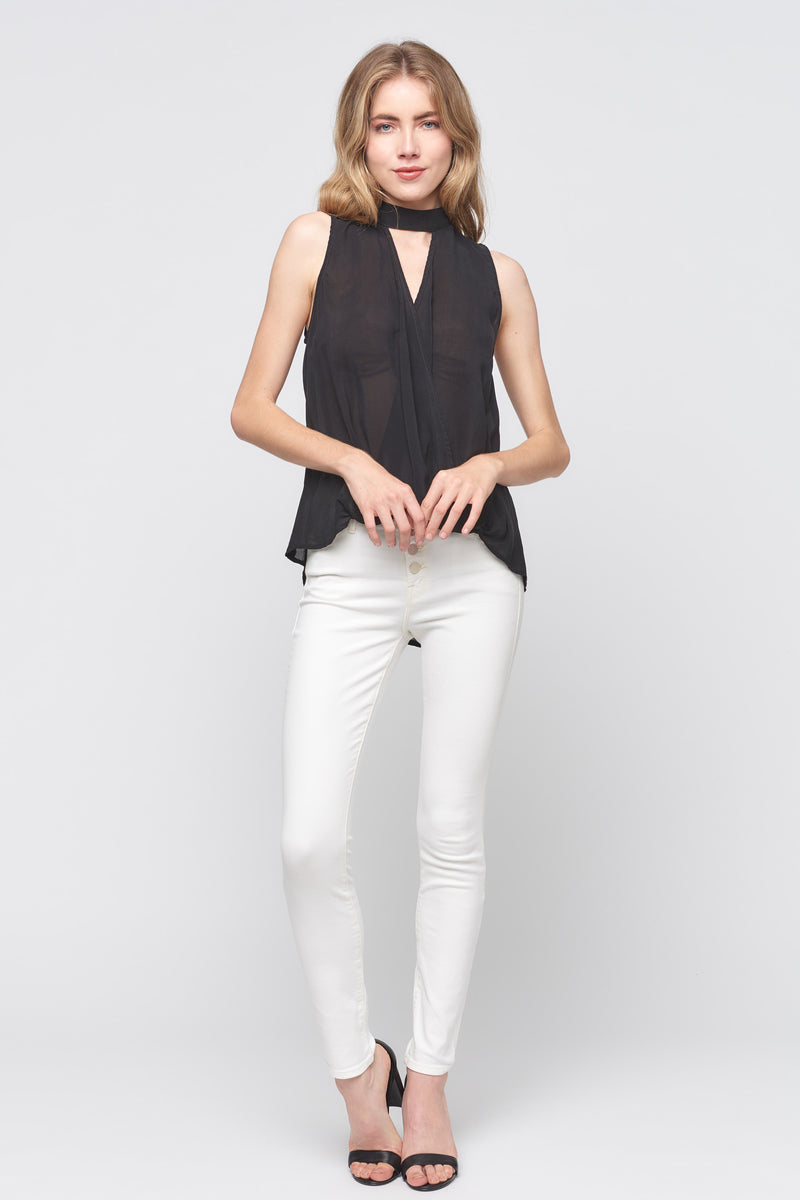 Sleeveless Surplus Top