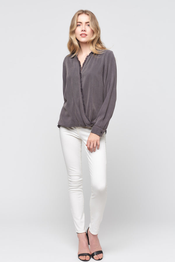 Long Sleeve Surplus Top