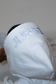 Limited Edition Original Logo Hoodie White / Reflective