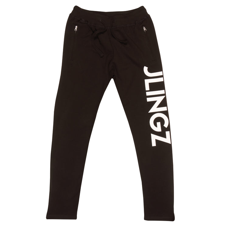 JLINGZ Dancefloor Womens Joggers | Black