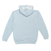 JLINGZ Kids Original Logo Hoodie | Light Blue