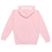 JLINGZ Kids Original Logo Hoodie | Light Pink