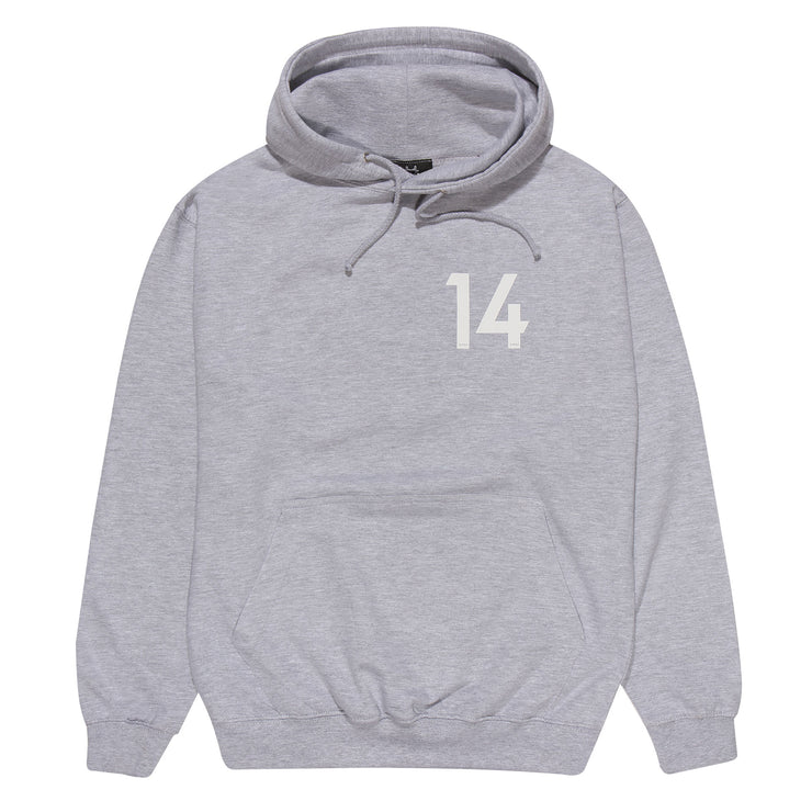 JLINGZ Line Up No:14 Hoodie | Grey