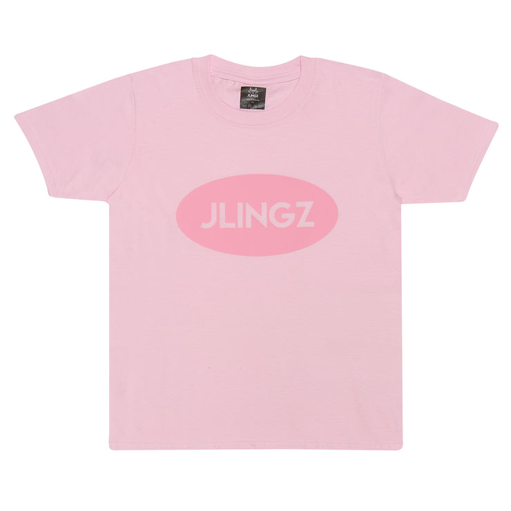 Oval Kids T-shirt | Pink
