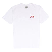 JLINGZ Shadow Print T-Shirt | White