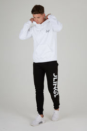 JLINGZ Mens Dancefloor Slim Fit Joggers | Black
