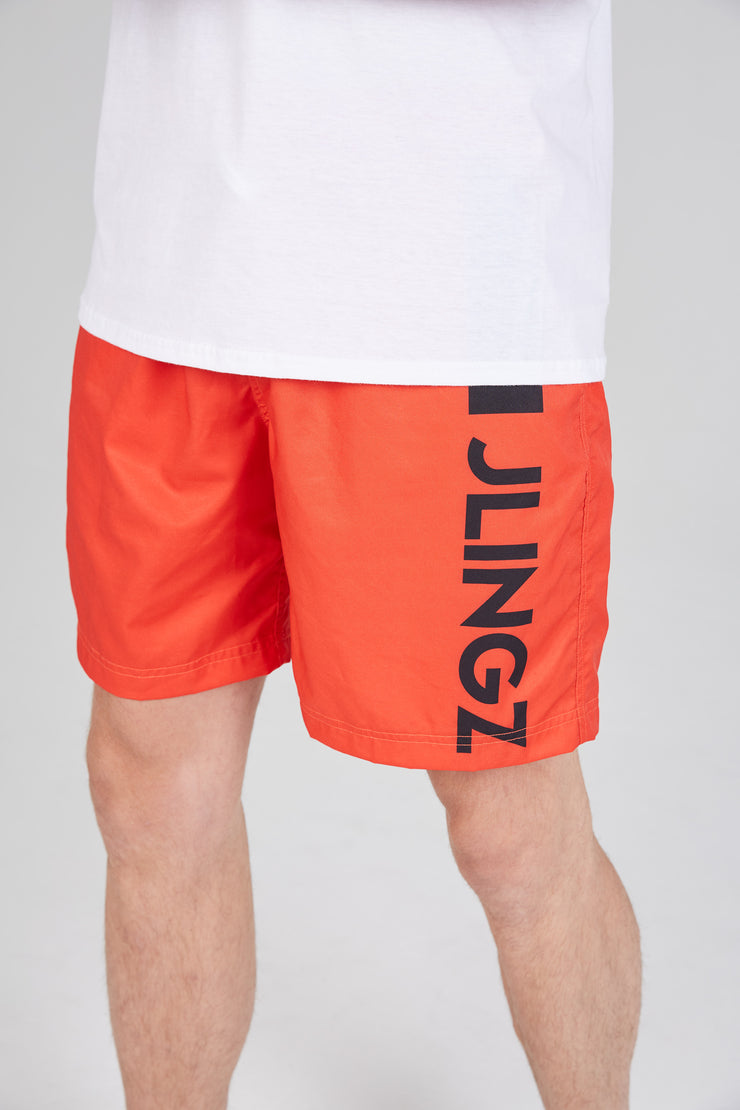 JLINGZ Swim Shorts - Red