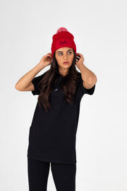 Bobble Hat Red