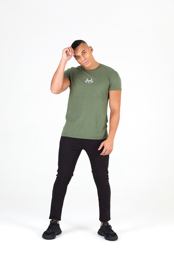Outline Green T-shirt Unisex