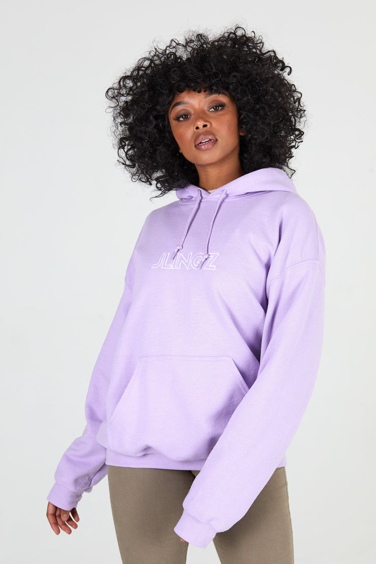 Outline Orchid Hoodie Unisex